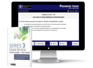 Series 3 Textbook and Test Bank