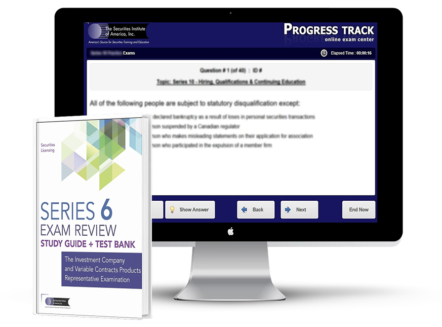 Series 6 Textbook and Test Bank