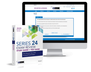 Series 24 study guide and test bank