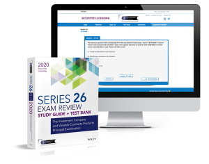 Series 26 Textbook & Exam Prep Software