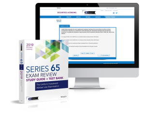 Series 65 exam review and test bank