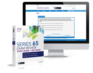 Series 65 study guide and test bank