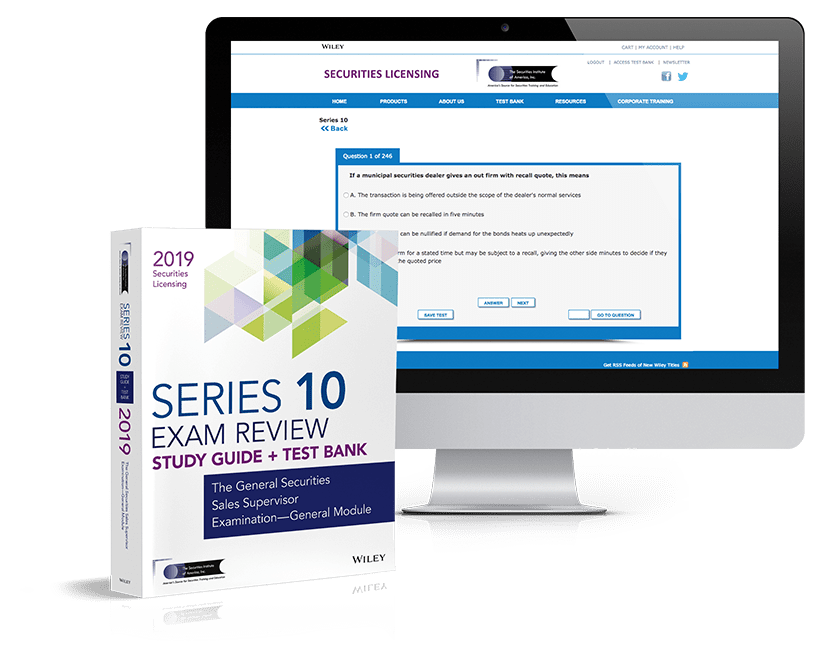 Series 10 exam review and test bank