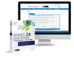 Series 24 exam review and test bank