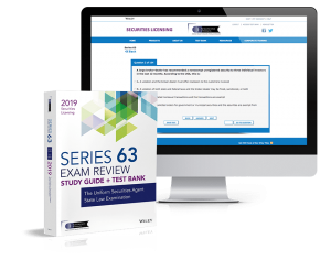 Series 63 Textbook & Exam Prep Software