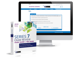 Series 7 exam review and test bank
