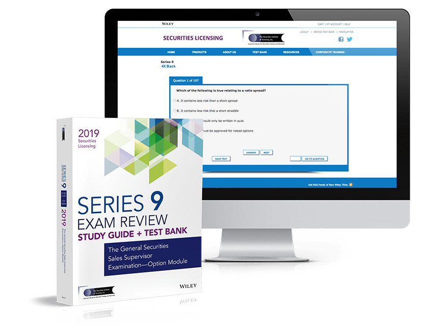 Series 9 exam review and test bank