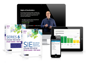 SIE exam and Series 6 Top Off Exam Training Package