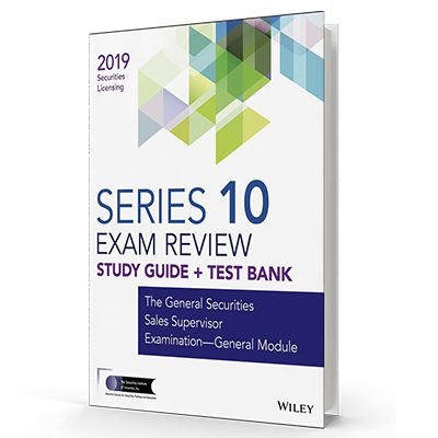 Series 10 exam textbook and study guide