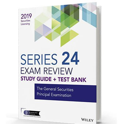 Series 24 exam textbook and study guide