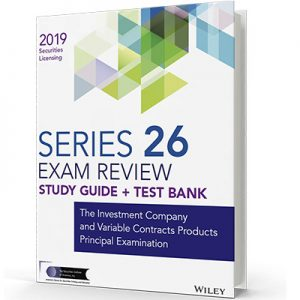 Series 26 exam textbook and study guide