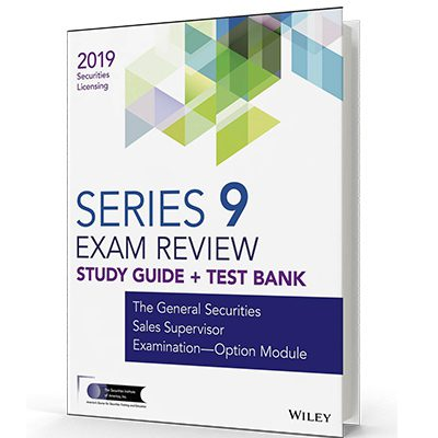 Series 9 exam textbook and study guide
